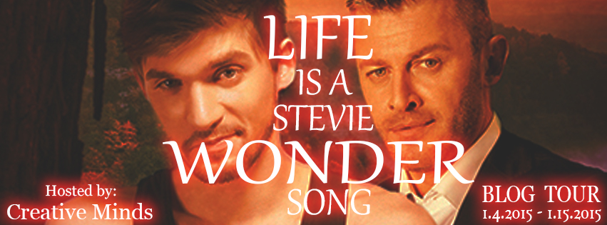 Blog Tour: Exclusive Excerpt & Giveaway V.L Locey - Life is a Stevie Wonder Song
